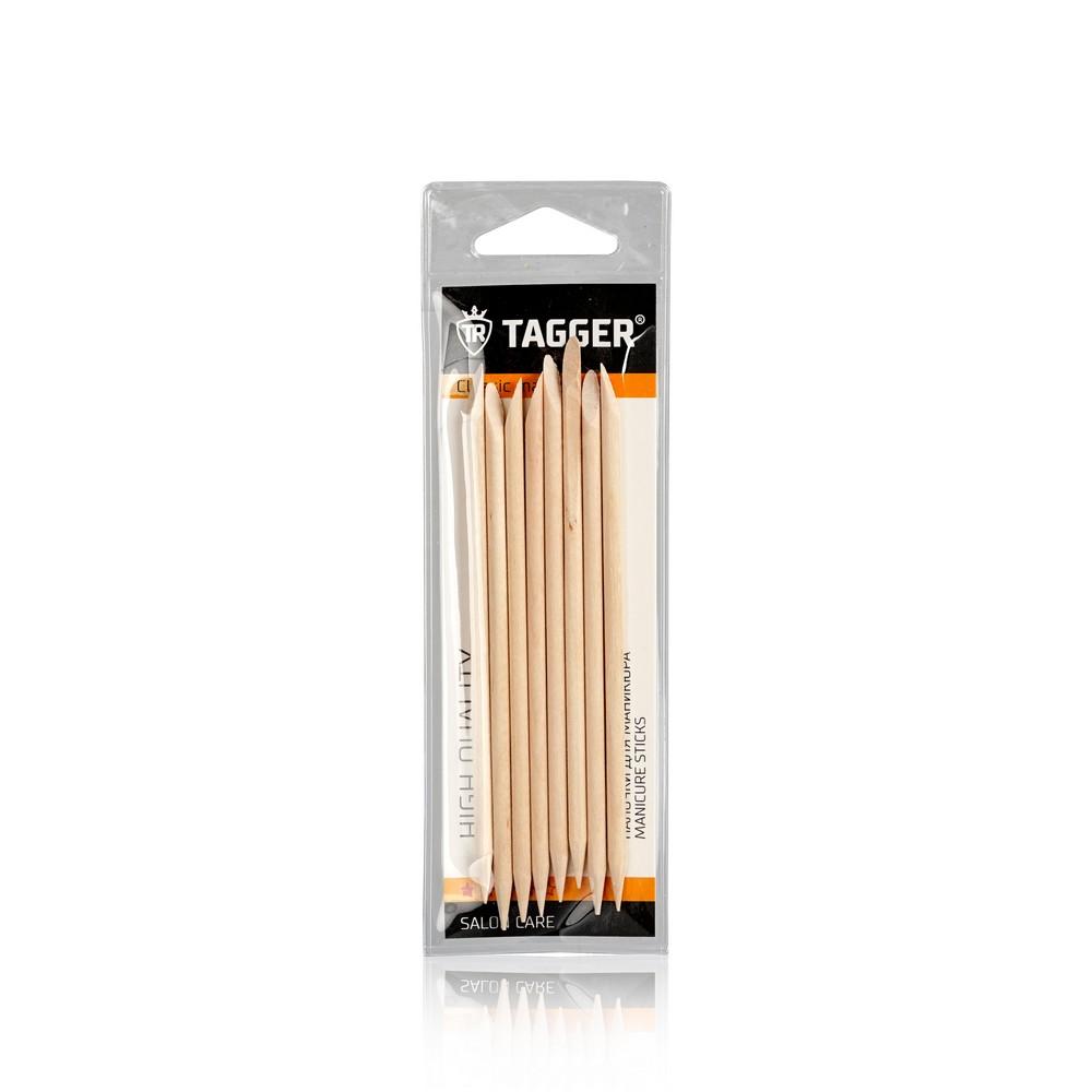 Деревянные палочки Tagger для маникюра , набор , 11,5см