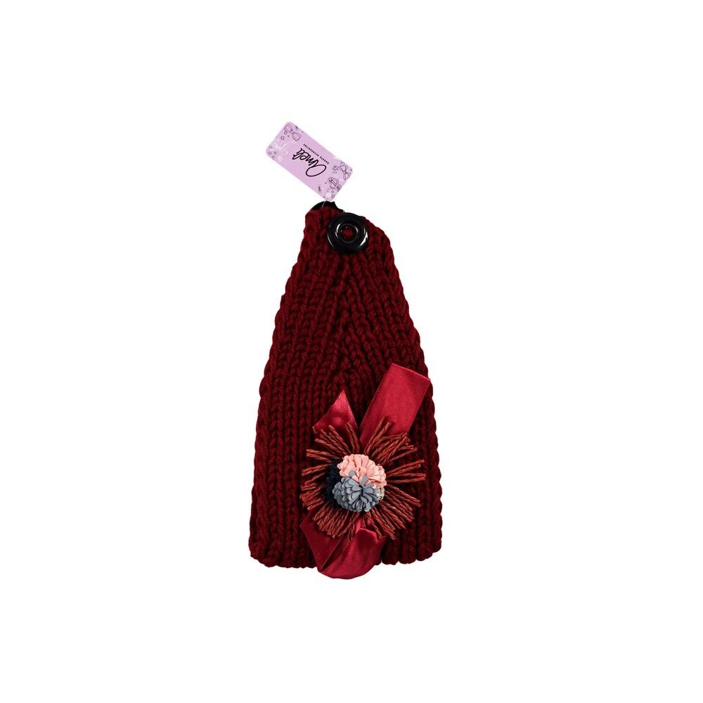 Фото - Повязка для волос Ameli вязанная с декором повязка для волос ameli сверкающая