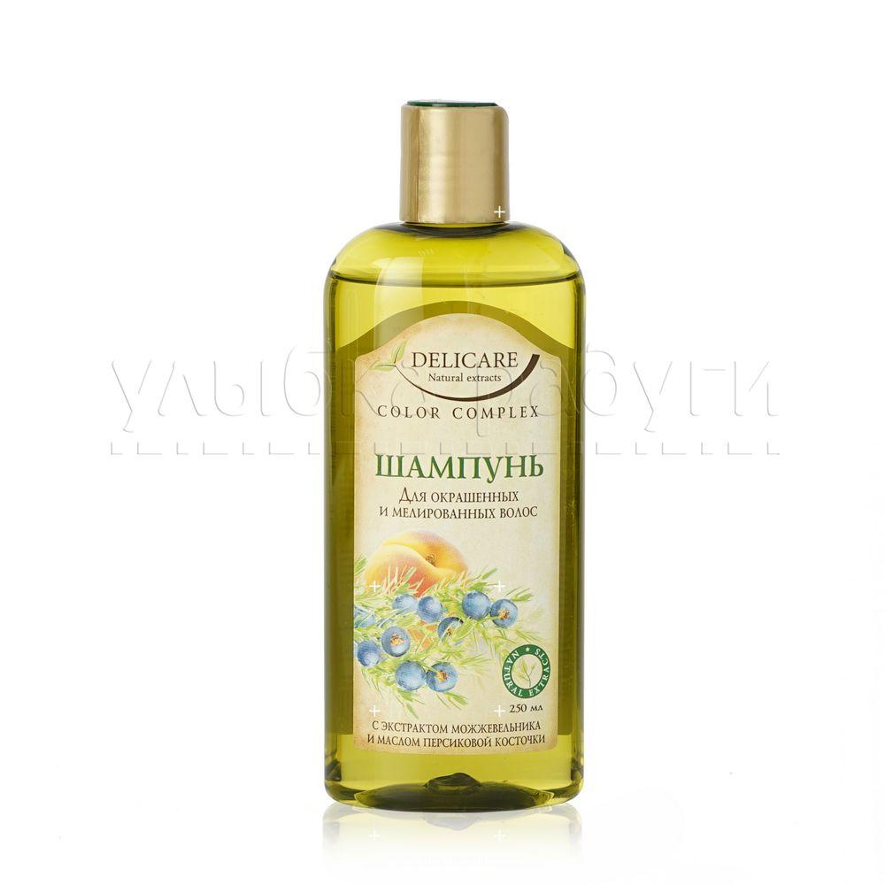 Шампунь Delicare Natural Extracts для окрашенных и мелированных волос  Color Complex 250мл