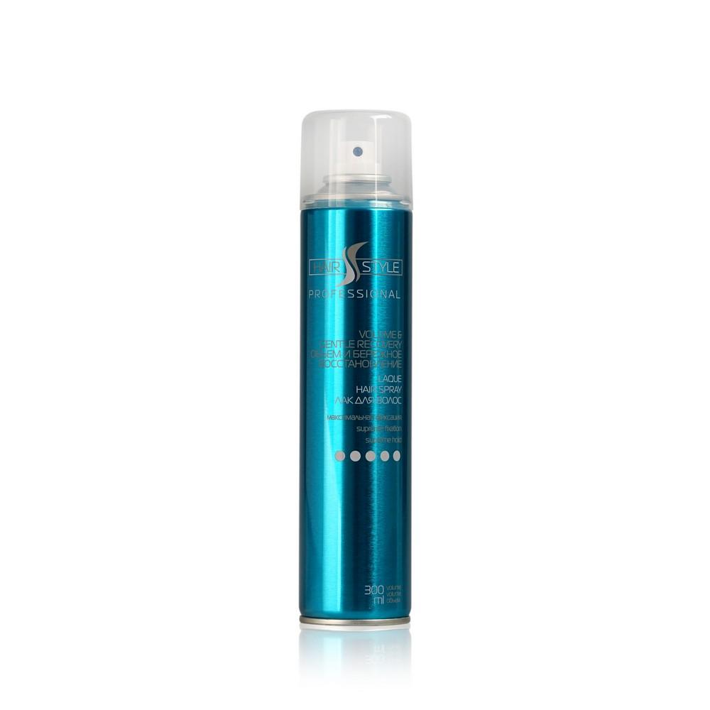 Лак для укладки волос Hair style  Объем и бережное восстановление Мегафиксация (5)