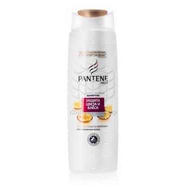 Шампунь для окрашенных волос защита и блеск