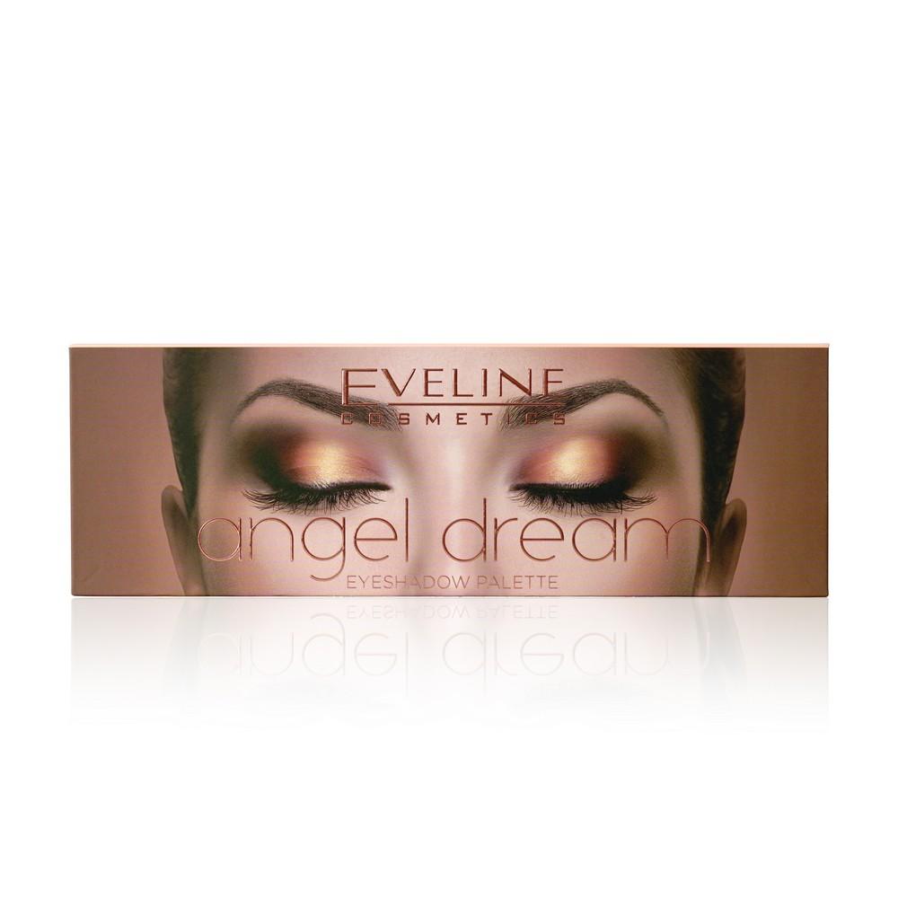 Тени для век Eveline Angel Dream 12 цветов 12г