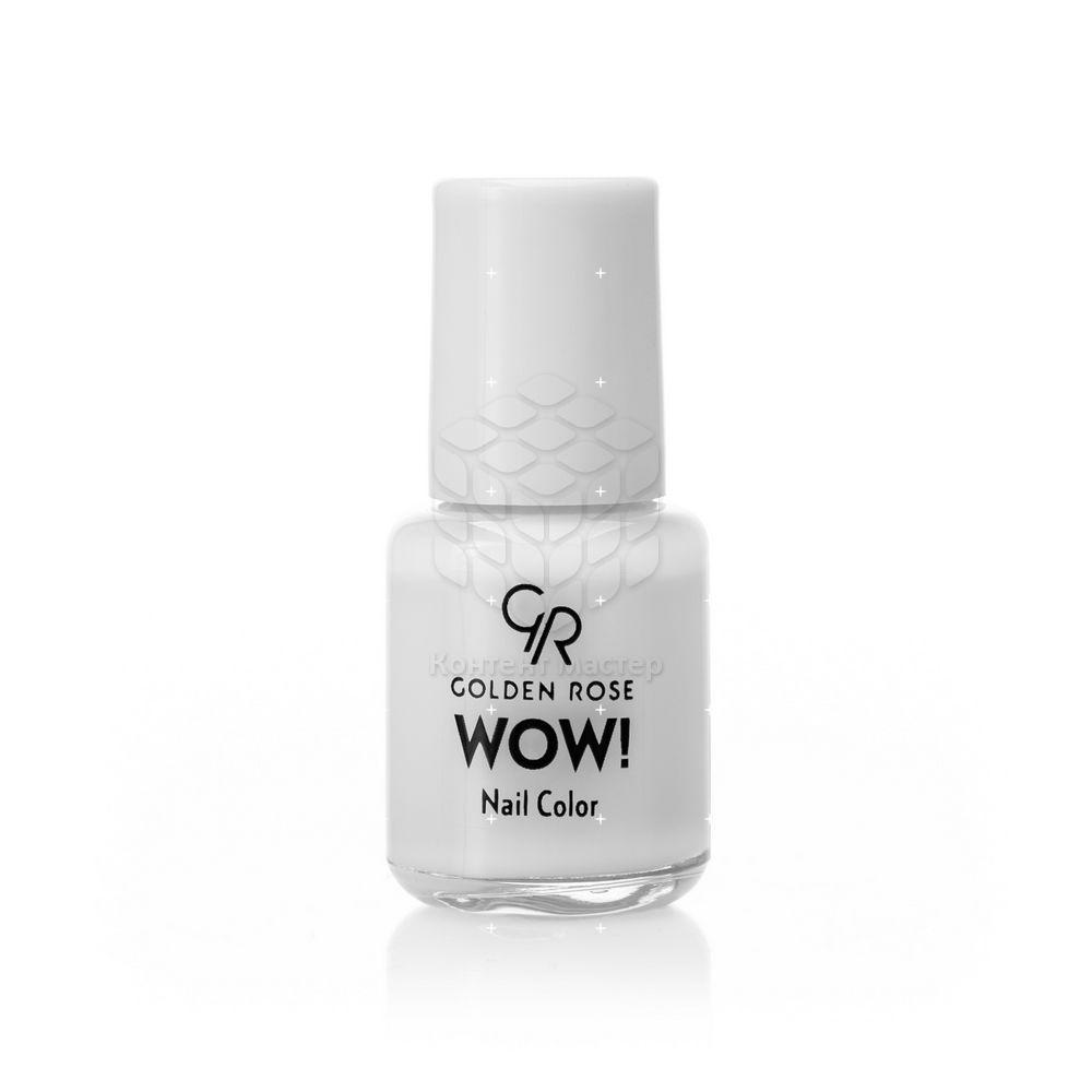 Лак для ногтей Golden Rose Wow! 1 Белый 6мл