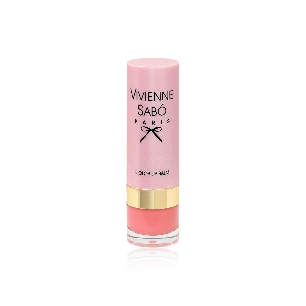 Помада - бальзам для губ Vivienne Sabo Baume a Levres 02 vivienne sabo помада бальзам lipstick balm baume a levres тон 05 3 мл