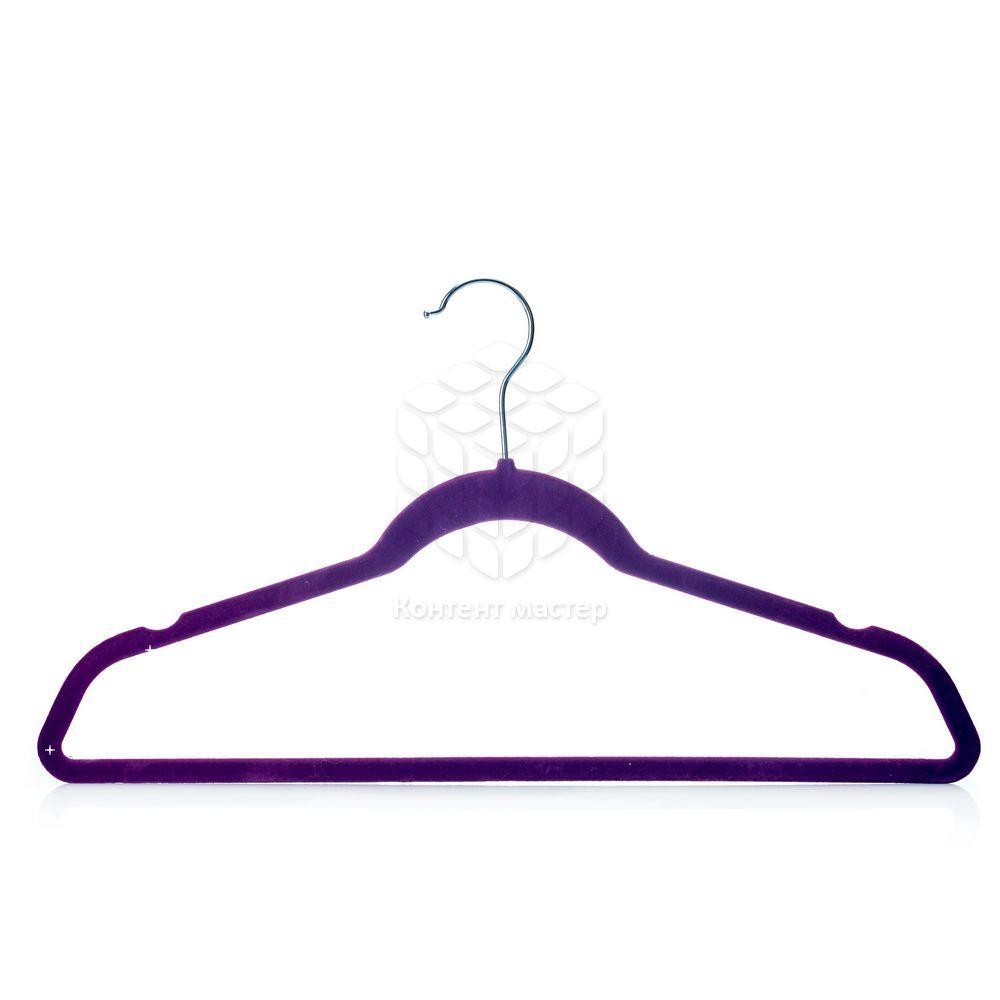Плечики Guten Tag для одежды бархатные, цвет в ассортименте