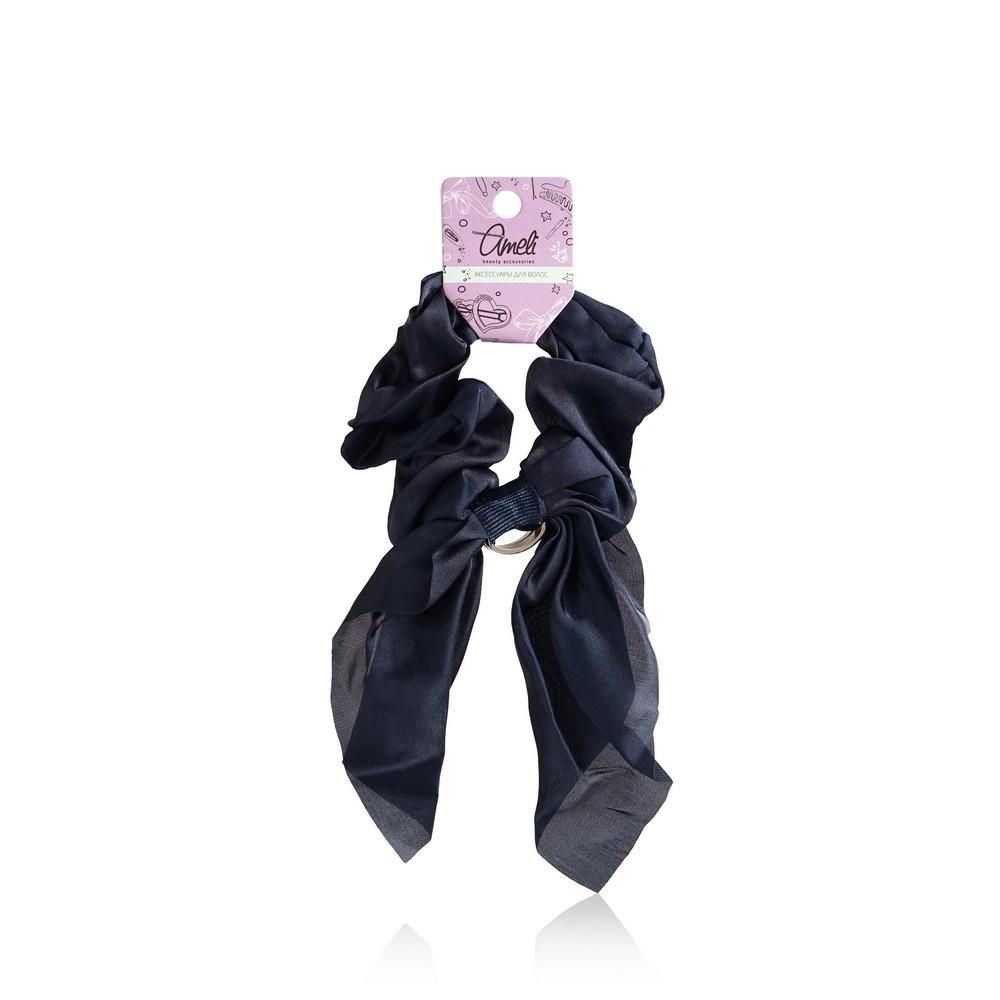Резинка для волос Ameli бантик с кольцом