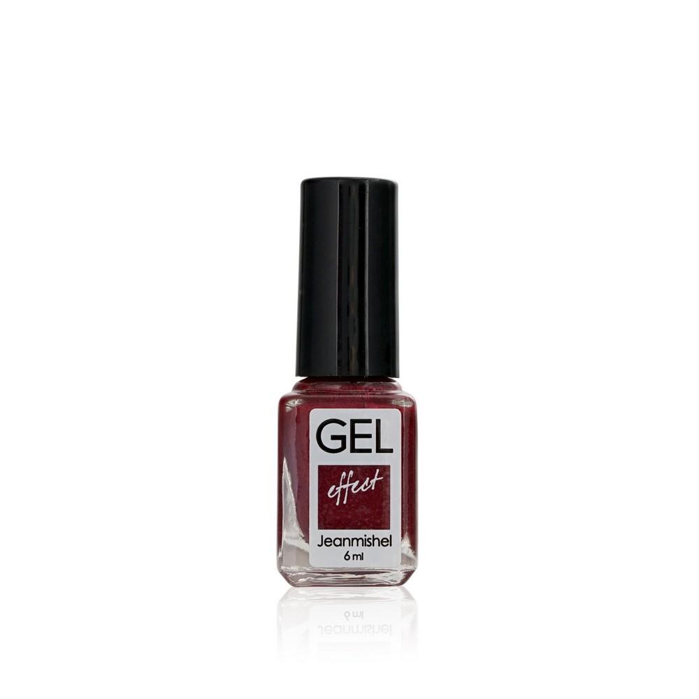 Лак для ногтей Jeanmishel GEL 152 Темно-розово-красный с перламутром 6мл
