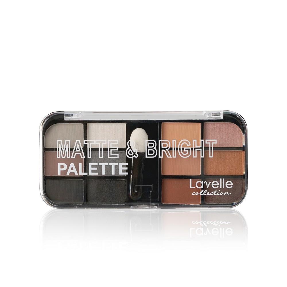 Тени для век Lavelle  Matte & Bright  12 цветов 03 9г lavelle универсальный карандаш