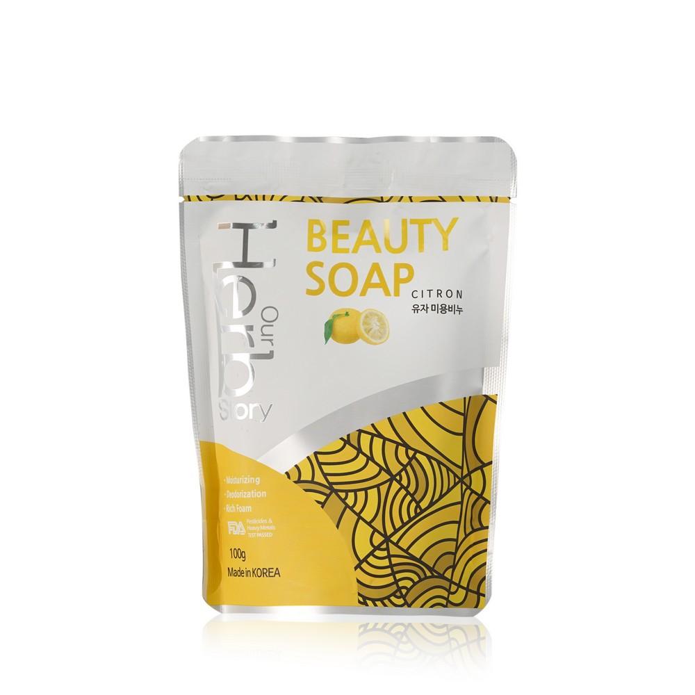 Мыло - пенка для умывания Our Herb Story  Лимон 100г