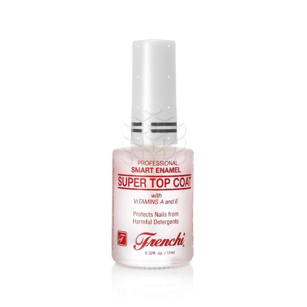 Защитное покрытие Frenchi Умная эмаль для обычных и лакированных ногтей с витаминами E и A 11мл