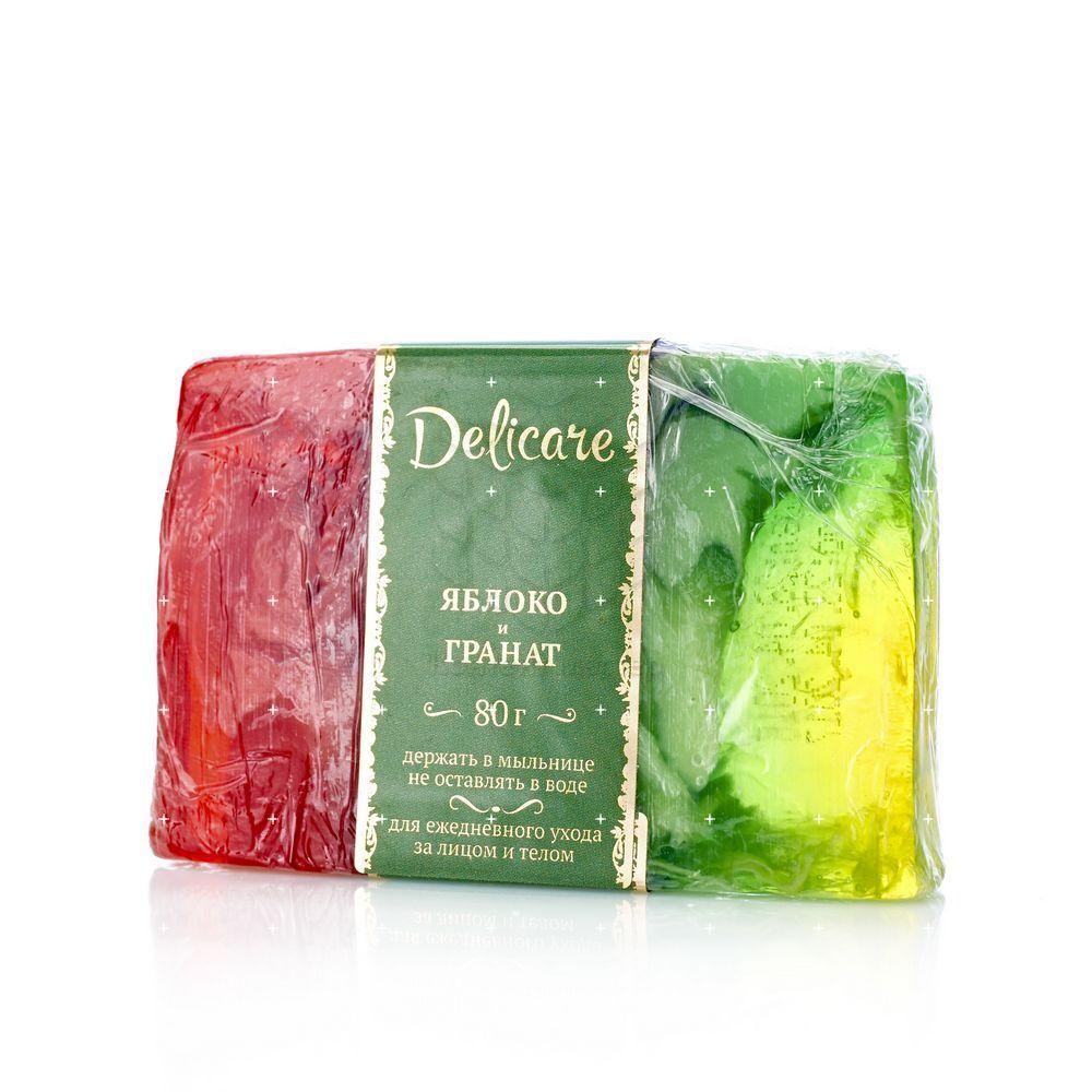Туалетное мыло Delicare с глицерином , в ассортименте 80г недорого