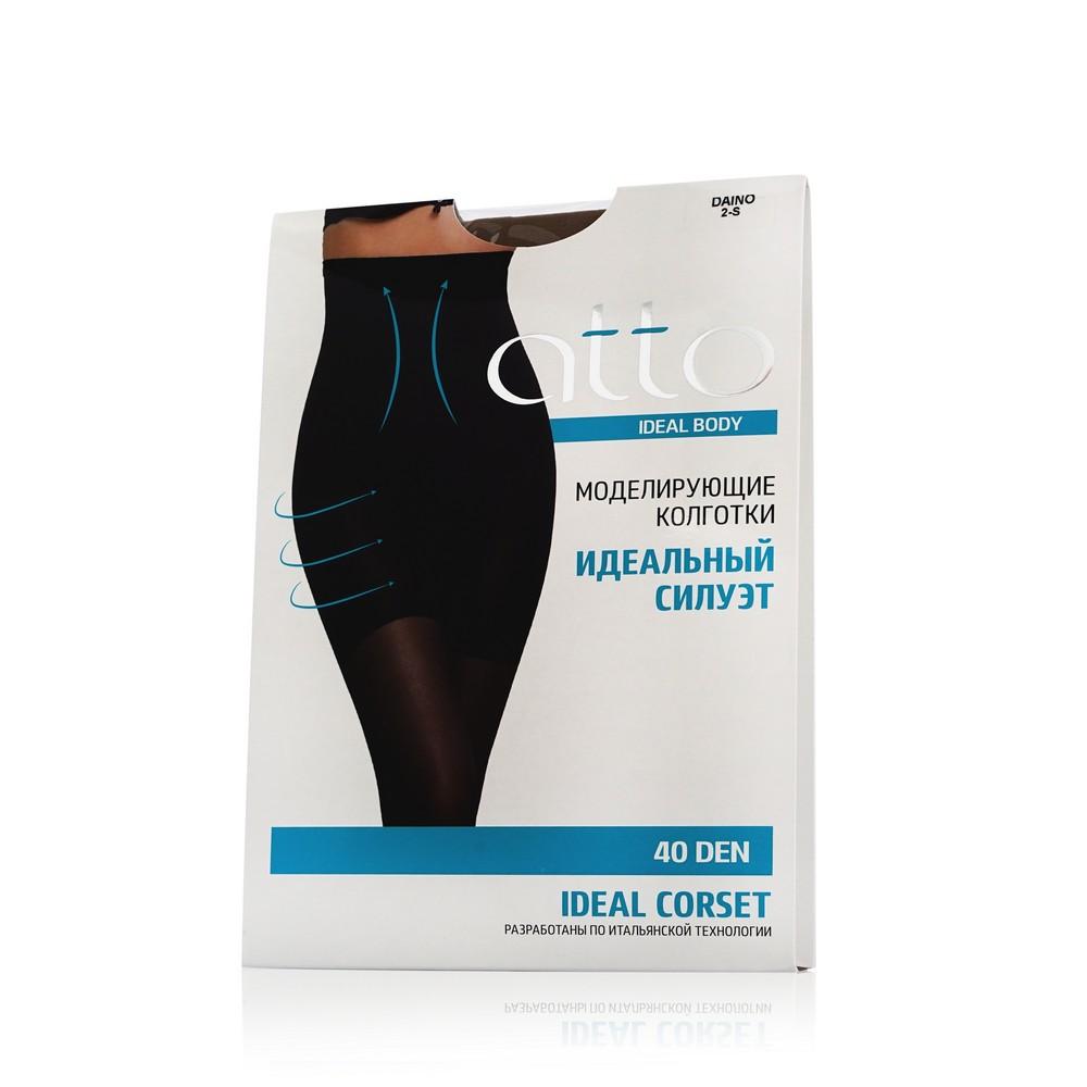 Женские колготки Atto Ideal Body Corset 40den Daino 2 размер хлопковые колготки atto cotton женские 150den черные 3 размер