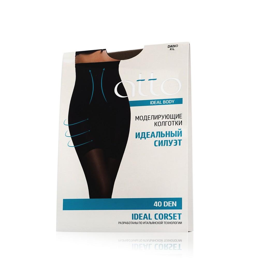 Женские колготки Atto Ideal Body Corset 40den Daino 4 размер хлопковые колготки atto cotton женские 150den черные 3 размер