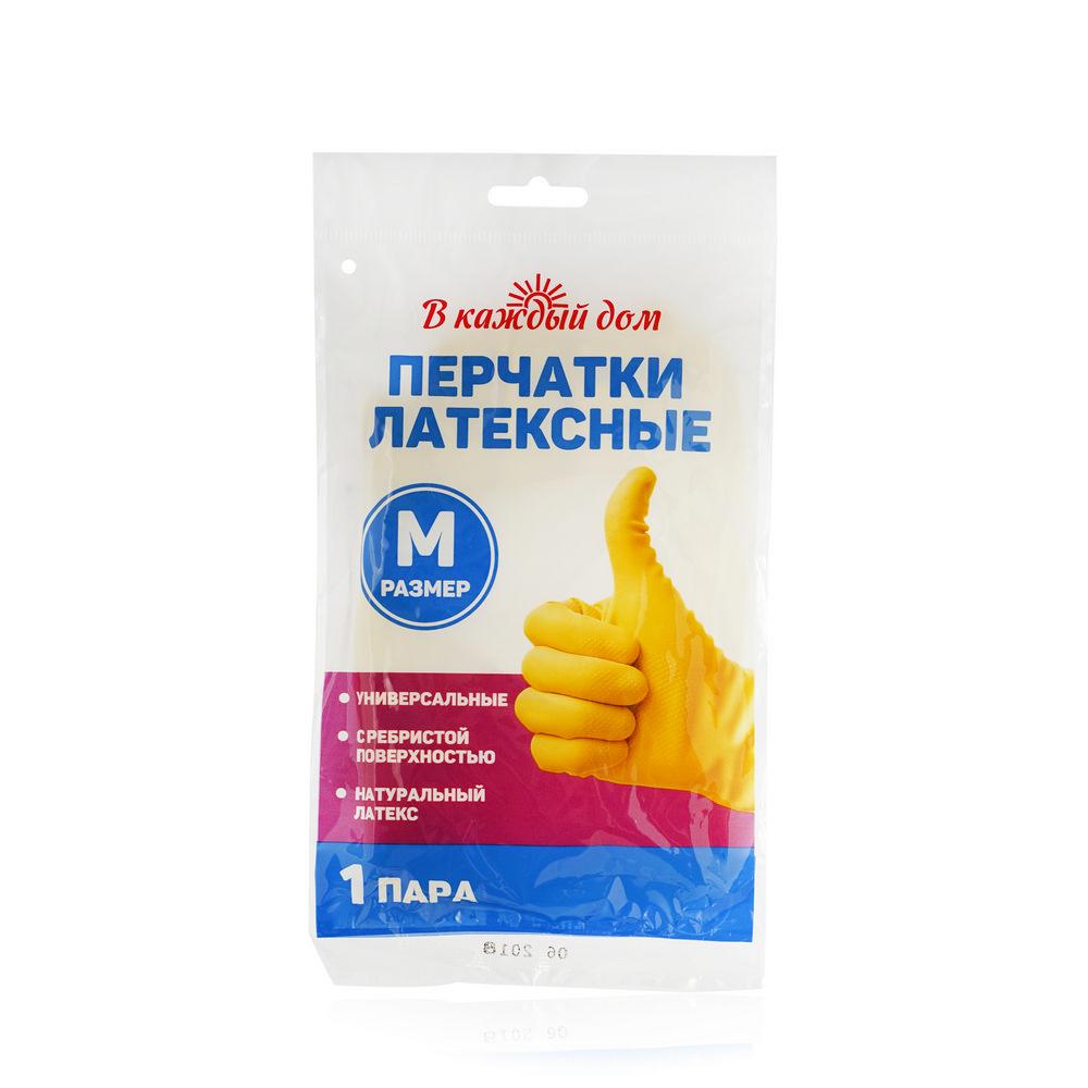 Резиновые перчатки В каждый дом M ЭКОНОМ