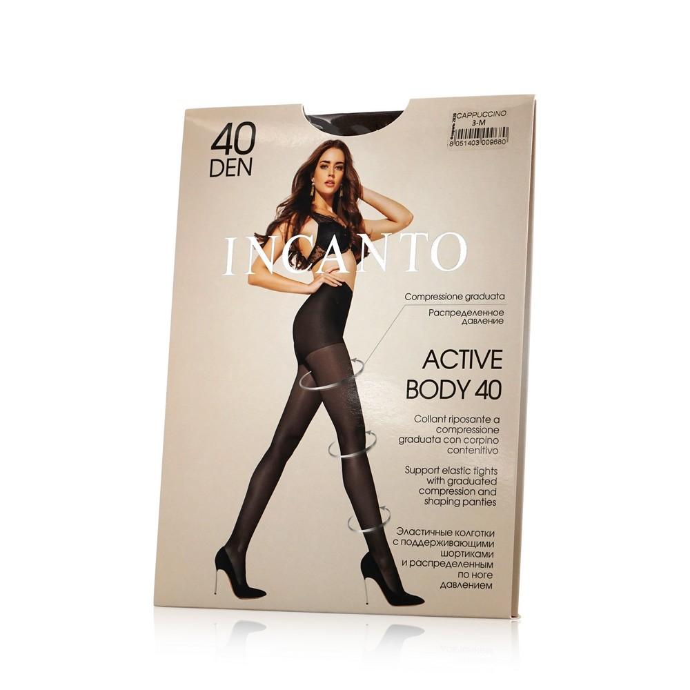 Женские колготки INCANTO Active Body 40den Cappucino 3 размер