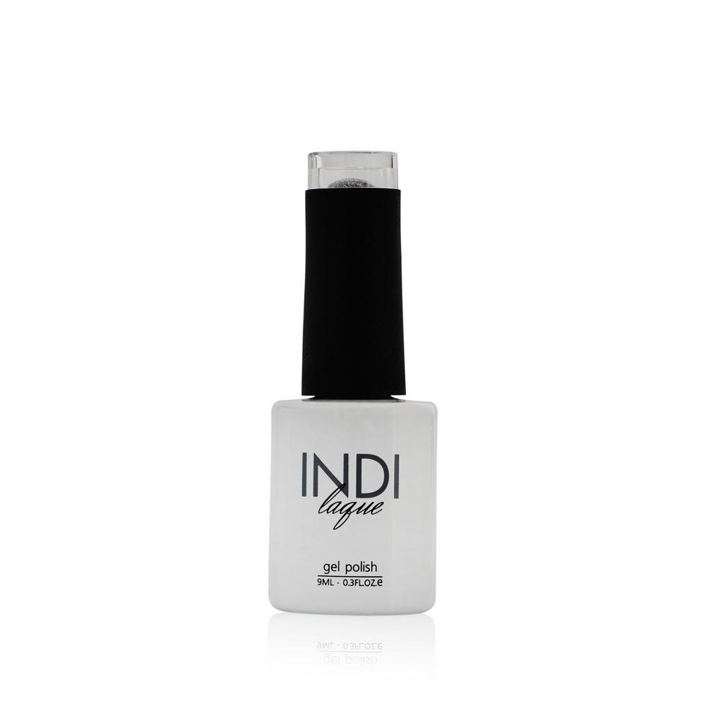 Гель-лак для ногтей RuNail INDI laque 3572 Серебряный с блестками 9мл гель лак для ногтей runail indi laque 4258 красный с мелкими блестками 9мл