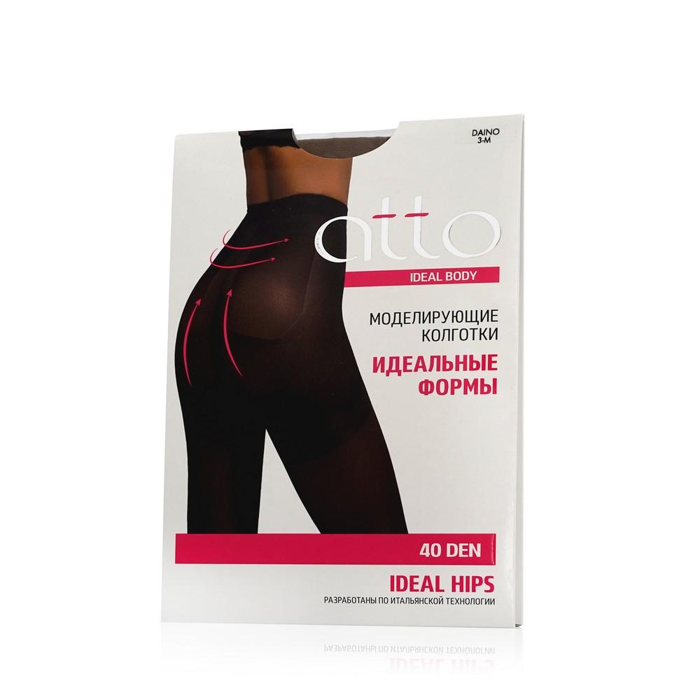 Женские колготки Atto Ideal Body Hips 40den Daino 3 размер хлопковые колготки atto cotton женские 150den черные 3 размер