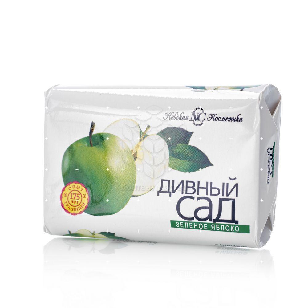 Туалетное мыло Невская Косметика Дивный сад  Зеленое яблоко  90г туалетное мыло fax fruity яблоко 5 70г