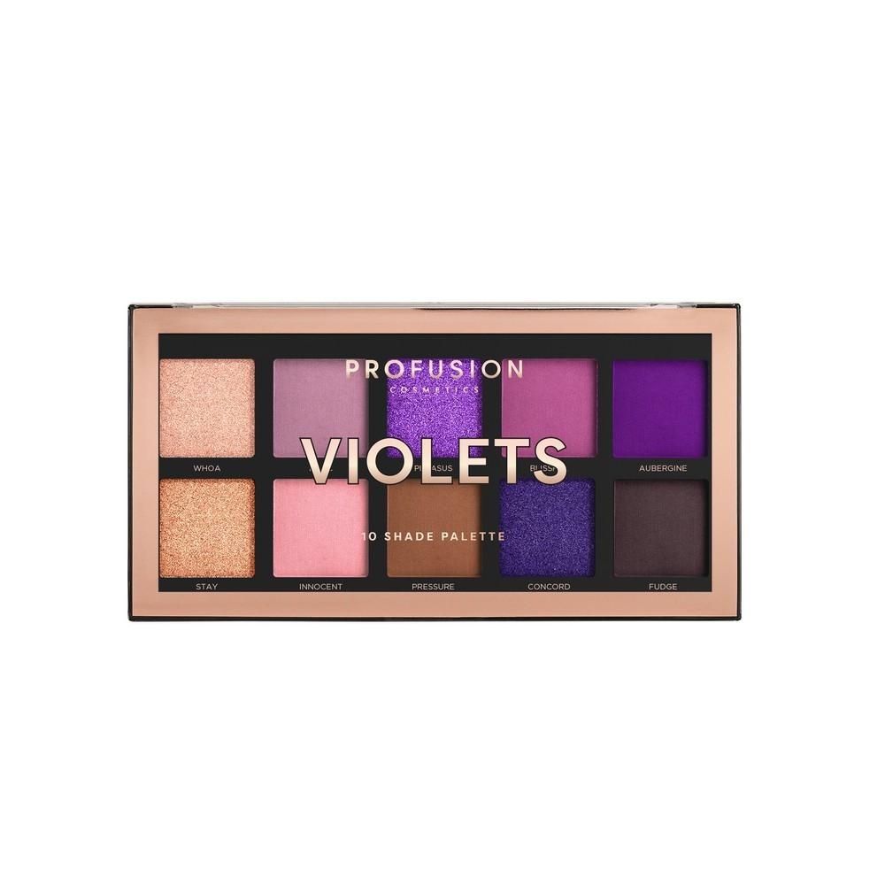 Тени для век Profusion Violets 10 цветов