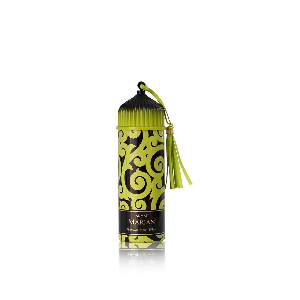 Женский парфюмированный дезодорант Armaf Marjan  GREEN  200мл armaf enchanted aqua спрей для тела 200мл