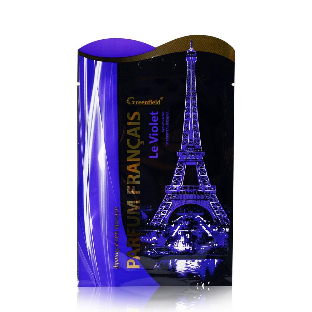 Освежитель воздуха - саше Greenfield Parfum Francais  Le Violet  15г greenfield ароматизатор освежитель воздуха parfum francais le violet 15 гр
