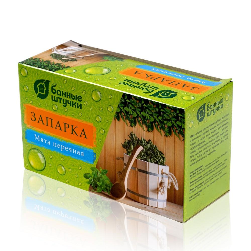 Фото - Запарка для бани Банные штучки  Листья мяты перечной  20 фильтр-пакетиков по 1,5 г запарка для бани в мешочке 30гр душица банные штучки 20