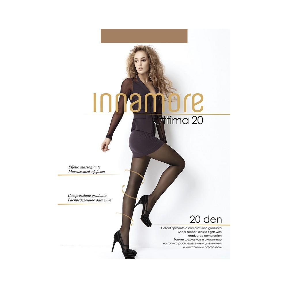 Женские колготки Innamore Ottima 20den Daino 4 размер колготки innamore ottima 20 den размер 4 l daino коричневый