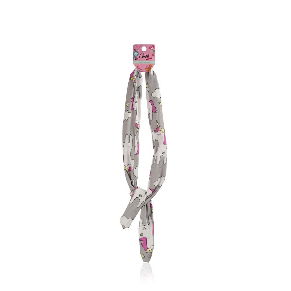 Фото - Повязка для волос Ameli с единорогами повязка для волос ameli сверкающая