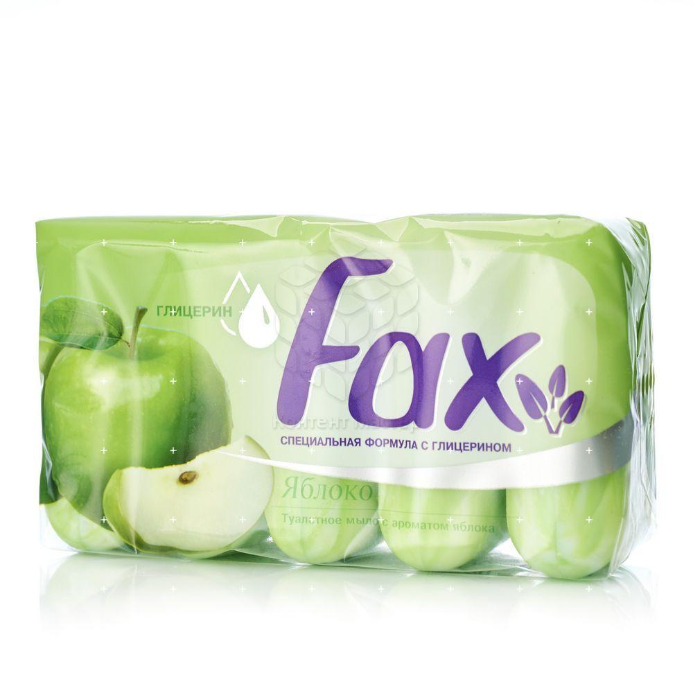 Туалетное мыло Fax Fruity  Яблоко  5*70г туалетное мыло fax fruity яблоко 5 70г