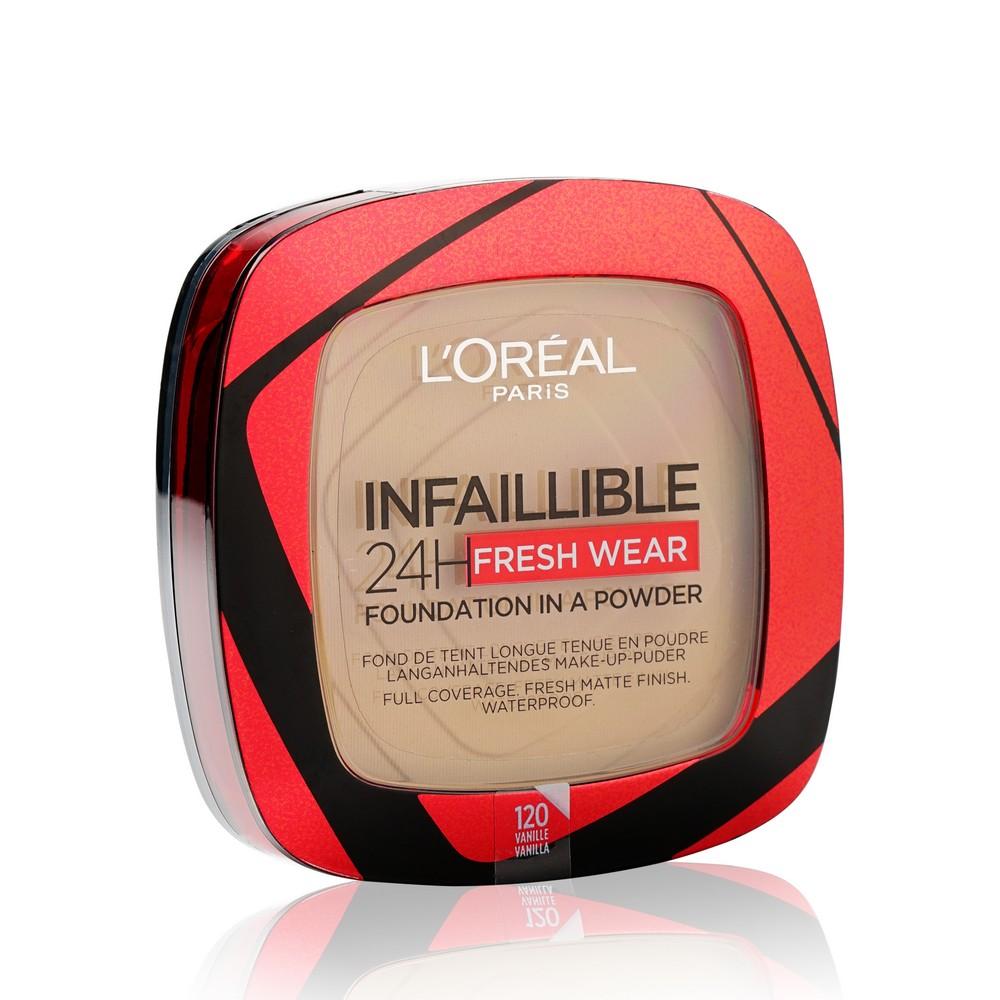 Пудра для лица L'Oreal Paris Infaillible 24H Fresh Wear 120 Vanilla 9г недорого