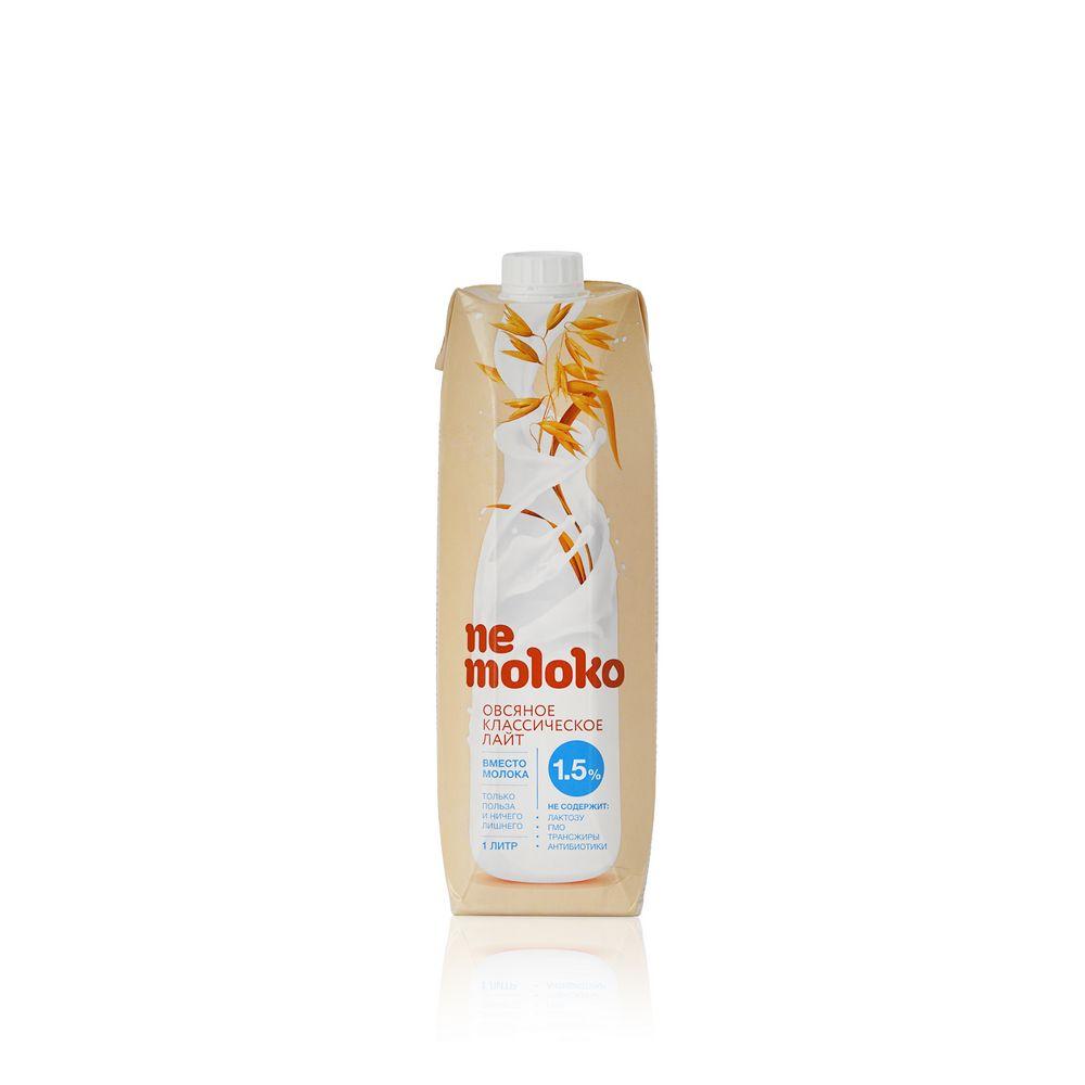 Овсяный напиток Ne Moloko  Классическое  1,5% 1л овсяный напиток ne moloko ванильный десерт 250мл