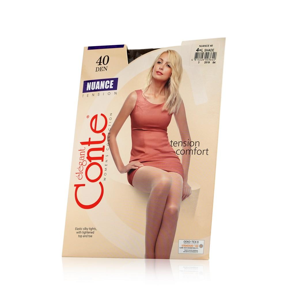 Женские колготки Conte Nuance 40den Shade 4 размер