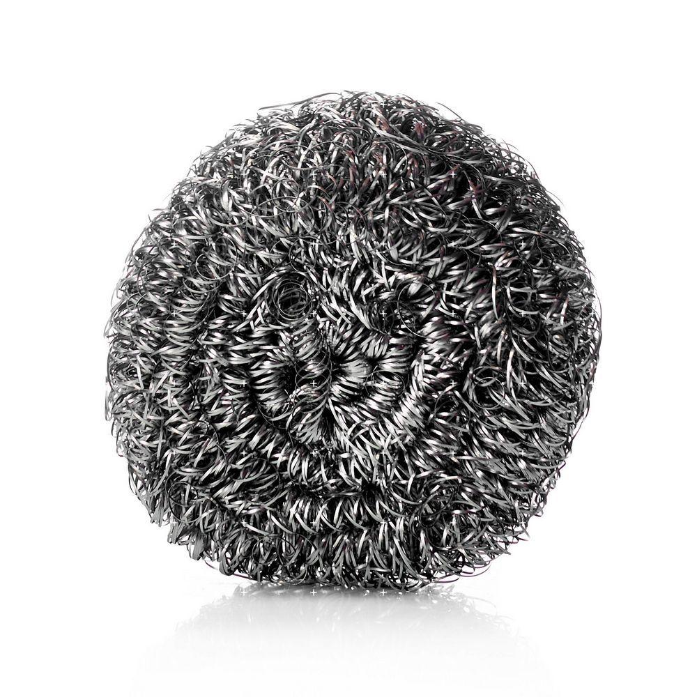 Фото - Металлическая мочалка - спираль Haus Frau для посуды 20г frau laura