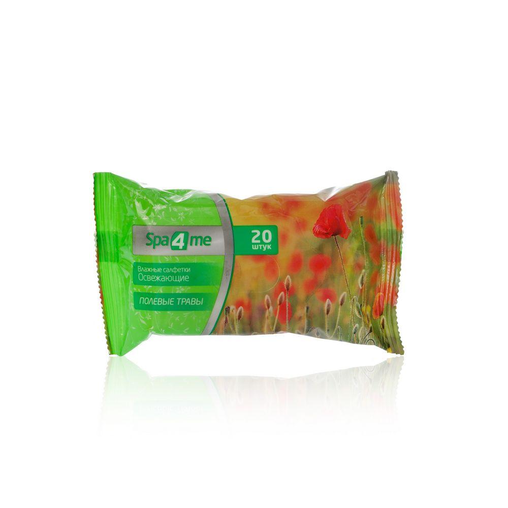 Освежающие влажные салфетки Spa 4 Me