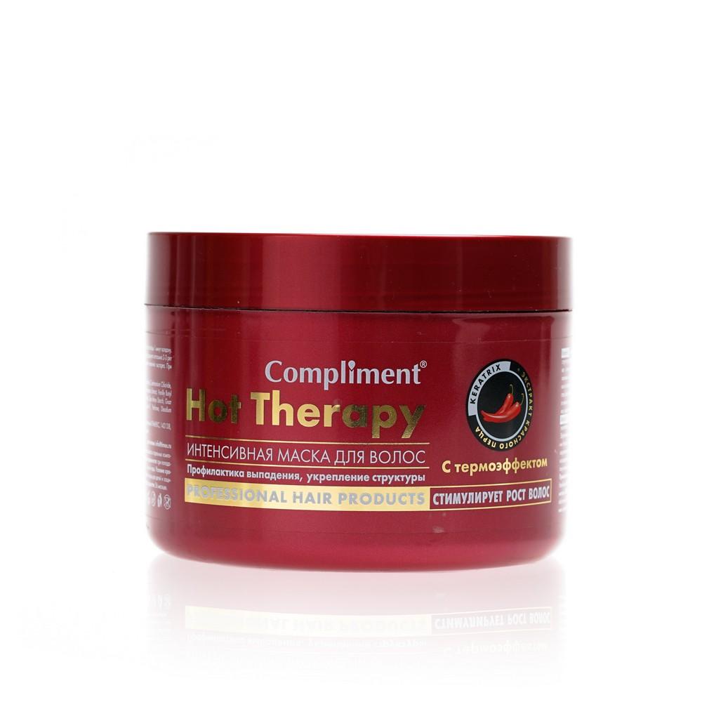 Фото - Интенсивная маска для волос Compliment  Hot Therapy  с термоэффектом 500мл compliment маска пленка no