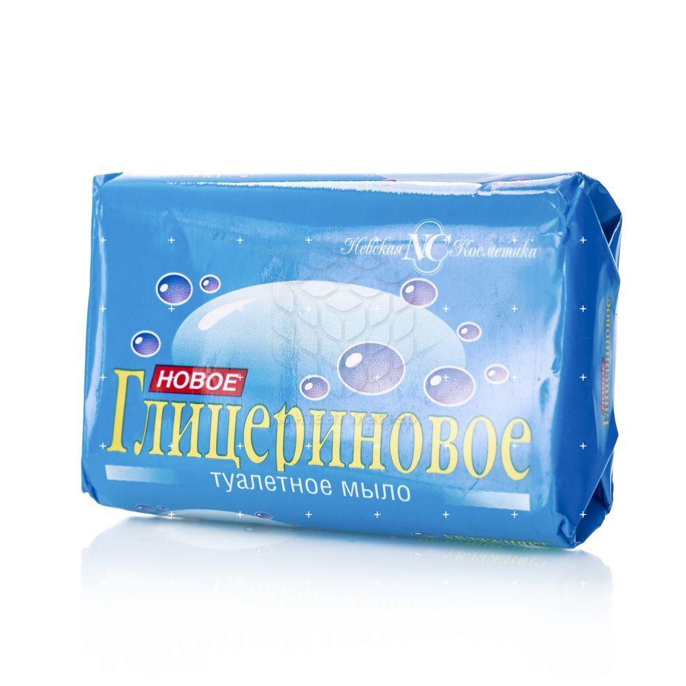 Туалетное мыло Невская Косметика  Глицериновое  90г туалетное мыло невская косметика новое ланолиновое 90г