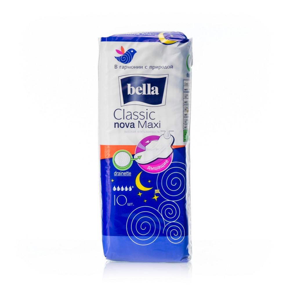 Женские прокладки Bella Classic Nova дышащие Maxi 10шт