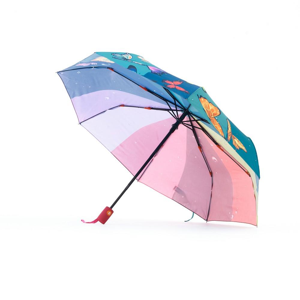 Женский зонт Raindrops RD-73885 , автоматический , 3 сложения , Фотопондж