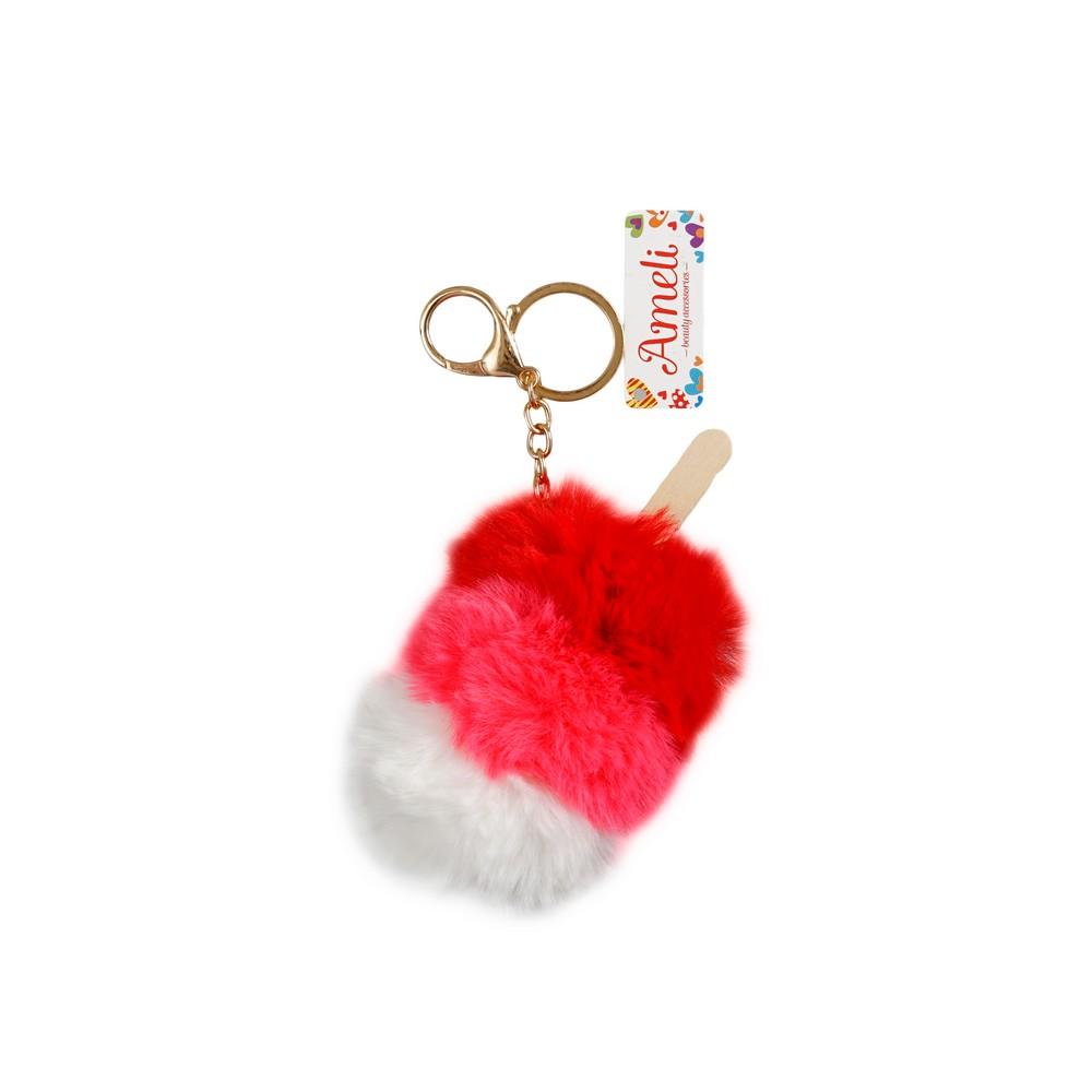 Фото - Брелок для сумки Ameli  Мороженое  сумки