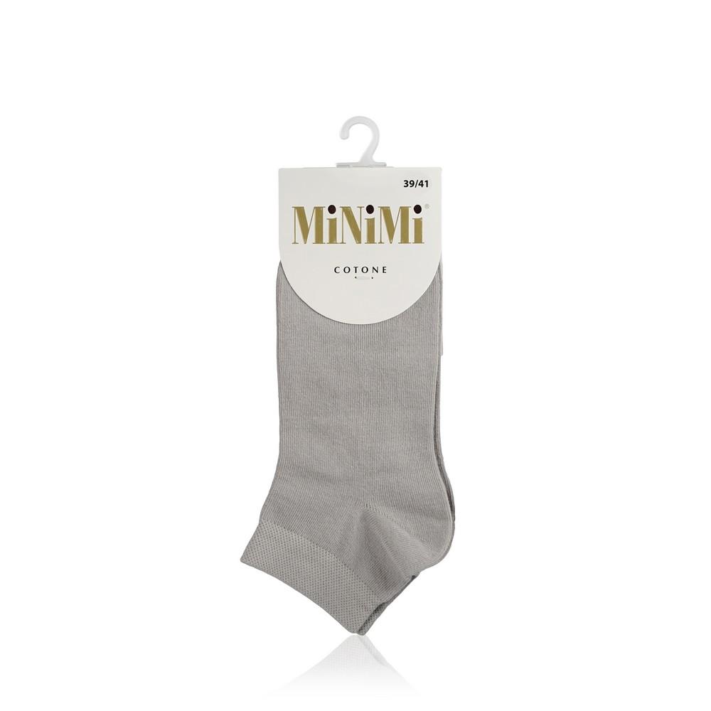 Женские носки Minimi Cotone трикотажные , 1201 , Grigio , р.39-41