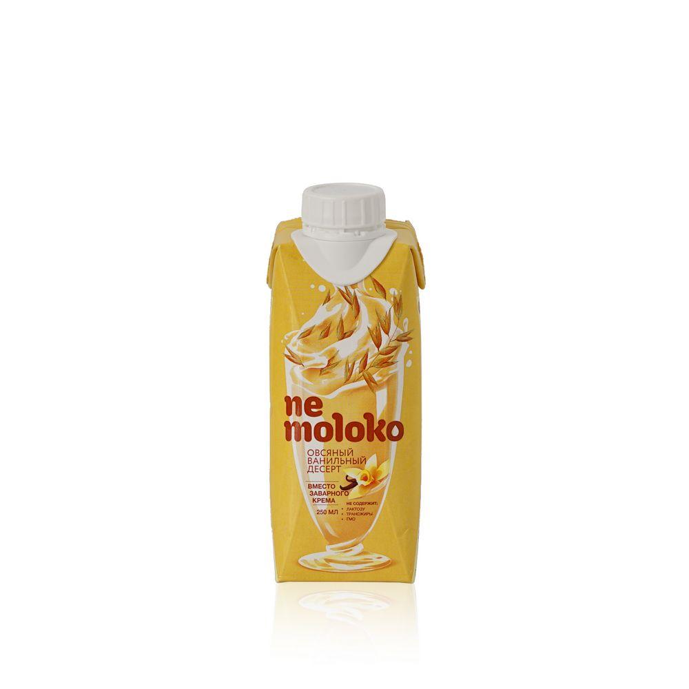 Овсяный напиток Ne Moloko  Ванильный десерт  250мл овсяный напиток ne moloko ванильный десерт 250мл