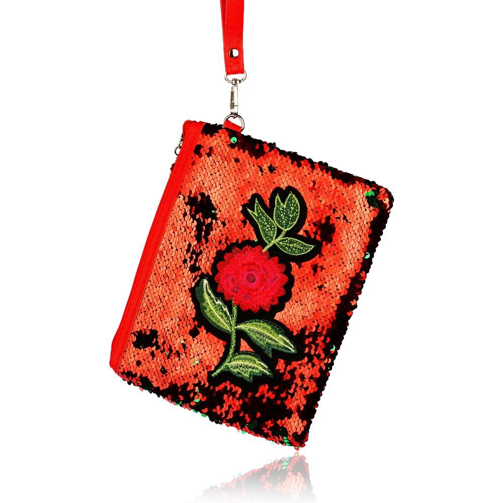Фото - Косметичка - конверт Ameli  Цветы  косметичка конверт ameli со звездой