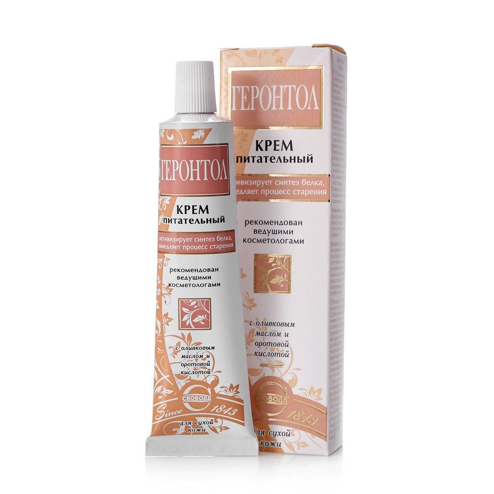 Питательный крем SVOBODA для лица для сухой кожи  Геронтол  40г