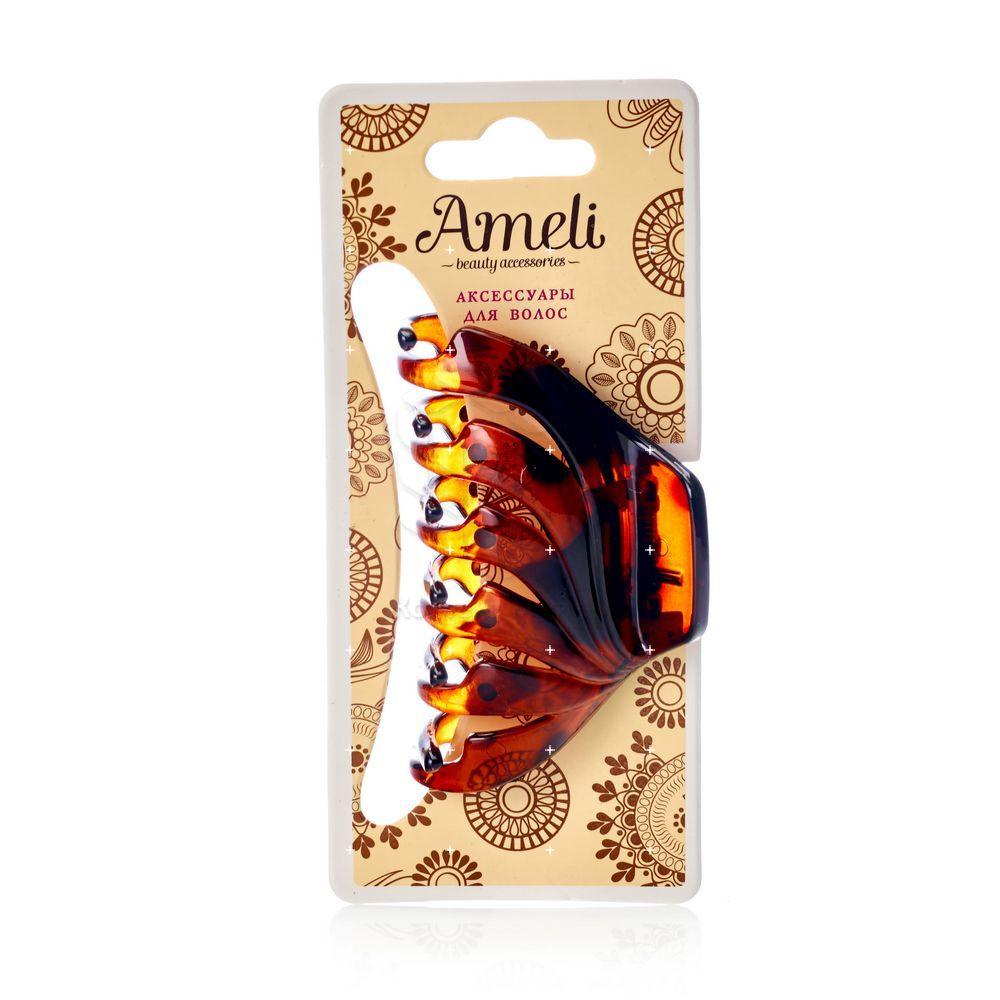 Заколка - краб для волос Ameli 7см недорого