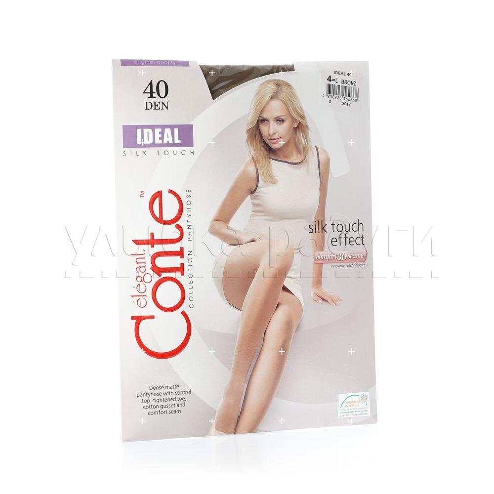 Женские колготки Conte Ideal 40den Bronz 4 размер