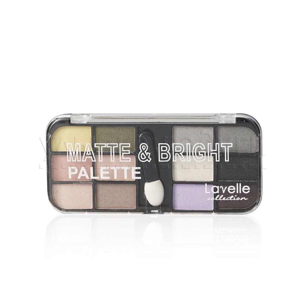 Тени для век Lavelle  Matte & Bright  01 , 12 цветов