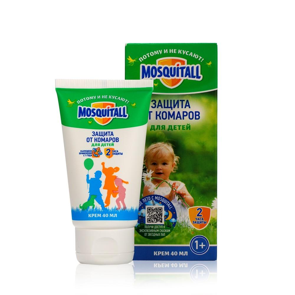 Детский крем от комаров Mosquitall Нежная защита 40мл