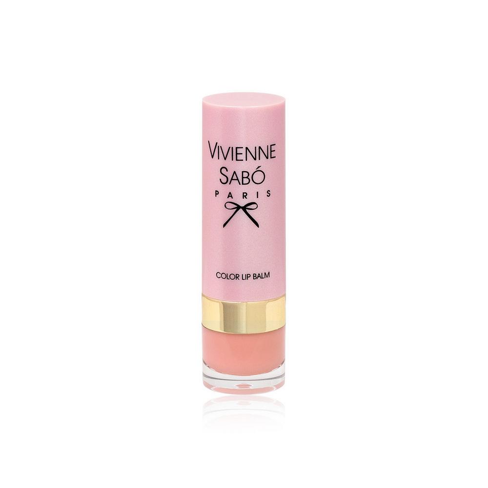 Помада - бальзам для губ Vivienne Sabo Baume a Levres 01 vivienne sabo помада бальзам lipstick balm baume a levres тон 05 3 мл