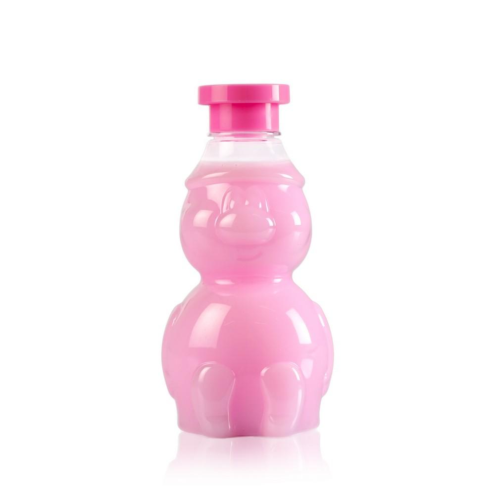 Детский шампунь - пенка для купания Гномка  клубничный йогурт  340мл