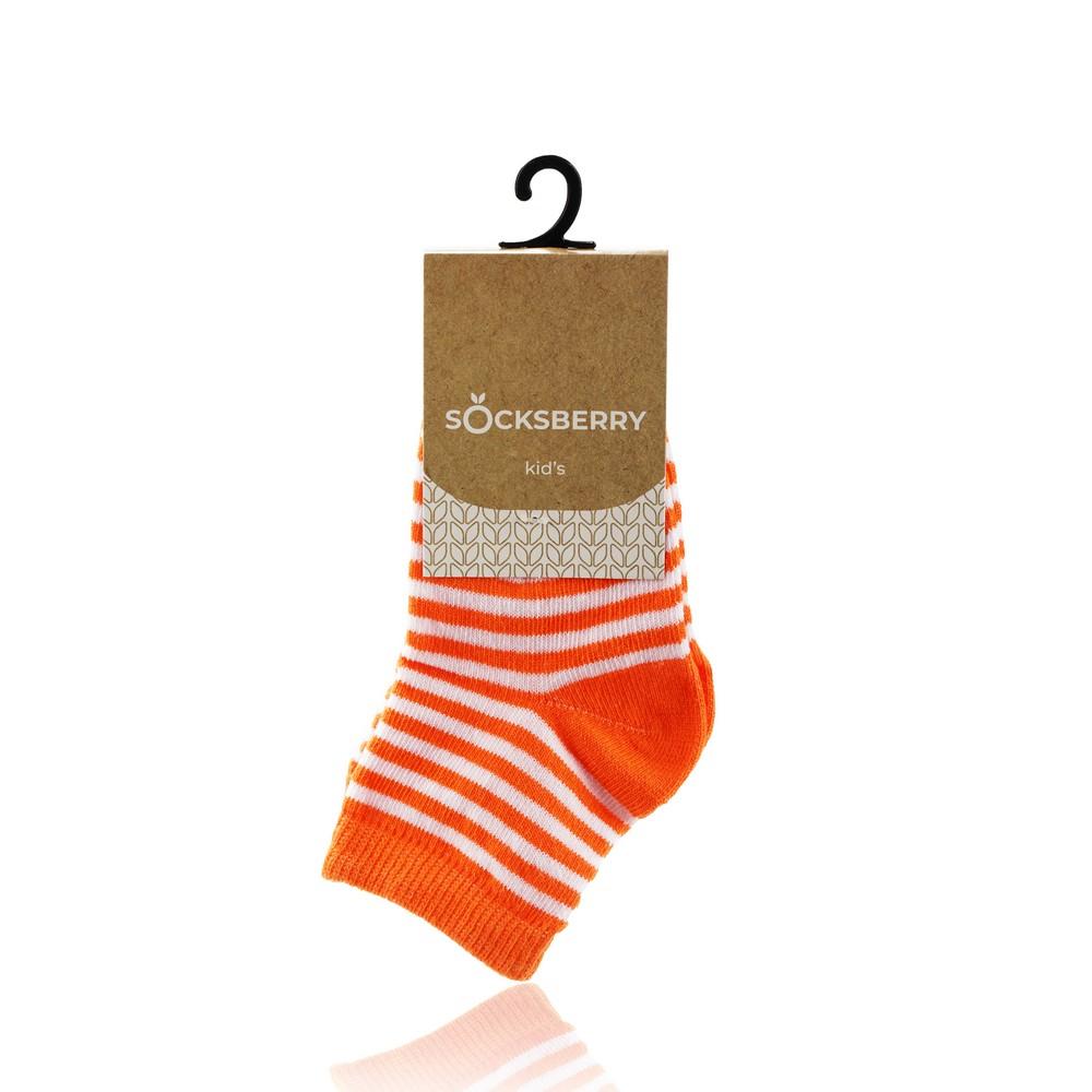 Детские носки Socksberry Kids KS-0017 , Оранжевые полосы , р.14